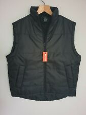 RESULT Mens Black Gilet Bodywarmer Quilted Waterproof New  with Tags Size M / L