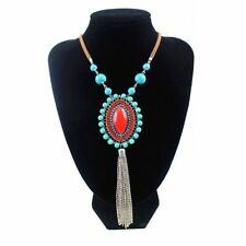 Leather Unbranded Holiday Costume Necklaces & Pendants