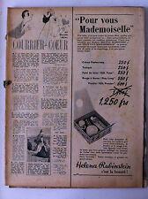 Elle n°? de 1954; Mode française au Maroc