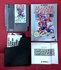Blades of Steel - NIntendo Nes - 8 Bits - USADO - BUEN ESTADO