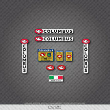 0225 Columbus GILCO MS DESIGN Bicycle Frame and Fork Stickers - Decals