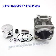 40mm Cylinder 10mm Piston Kit  2 Stroke 47cc Engine Mini ATV Pocket Dirt Bike