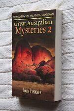 Great Australian Mysteries: Bk. 2 by John Pinkney (Paperback, 2006), Brand new