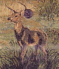 Dick Idols Legends Deer Tapestry Looking 100%  Cotton Quilting, By the Yard OOP