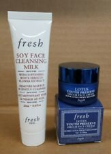 fresh❤Travel Duo with Lotus Youth Preserve Dream Face Cream & Soy Cleansing Milk
