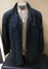 RRL Ralph Lauren Mens Navy Field Jacket Coat Size L