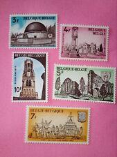 STAMPS - TIMBRE - POSTZEGELS - BELGIQUE - BELGIË 1974  Nr 1718/22 **  (ref.1930)