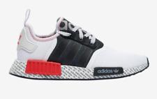 adidas Originals NMD R1 Black/White/Lush Red Transmission Pack FV7848 Sz 8-13