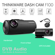 Thinkware F100 Front and Rear Internal Dash Accident Camera 1080P GPS Hardwired