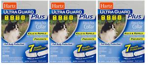 Hartz UltraGuard Plus Flea & Tick Collar for Cats and Kittens (3 Pack)