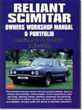 Reliant Scimitar Owners Workshop Manual, Brooklands Books Ltd, ., Very Good, Pap