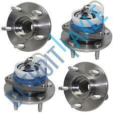 4 pc Set: Front and Rear NEW Wheel Hub and Bearing Assembly w/ ABS - AWD Models