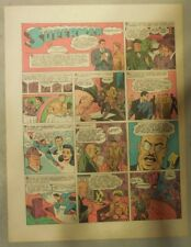 Superman Sunday Page #196 by Siegel & Shuster from 8/1/1943 Tab Page:Year #4!