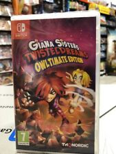 Giana Sisters Twisted Dreams Owltimate Edition SWITCH NUOVO SIGILLATO