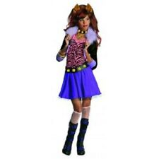 Girls Child Monster High Clawdeen Wolf Skirt Costume