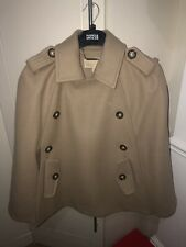 Michael Kors - Wool Trench Cape Coat