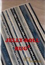 "PATTERN - Jelly Roll Rug 2 - fun PATTERN for 2.5"" strips - RJ Designs"