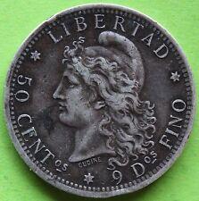 ARGENTINE 50 CENT 1883
