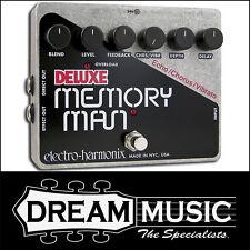 Electro Harmonix EHX Deluxe Memory Man Analog Delay/Chorus/Vibe FX Pedal RRP$629
