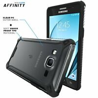 For Samsung Galaxy On5 Rugged Case Poetic Affinity Shockproof TPU Cover Black