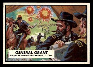 1962 Topps Civil War  #38 General Grant NM/MT