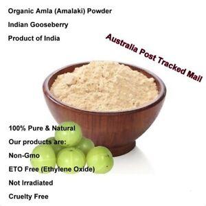 Amla Powder Amalaki 100g (Emblica officinalis) Certified Organic Non GMO