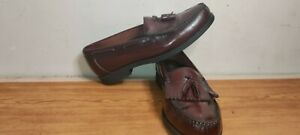 Rockport Confort Brown Leather Loafers Shoes For Men Size 12