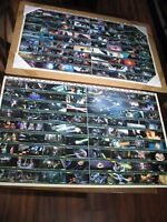 Lot of 2 Star Wars RETURN OF THE JEDI Trading Cards Uncard Card Sheet Sheets