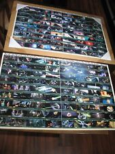 Lot of 2 Star Wars RETURN OF THE JEDI Uncard Card Sheet