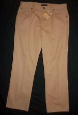 Tommy Hilfiger Freedom 5-Pocket Relaxed Fit Khaki Tan Cotton Pants 38 X 34 NWT
