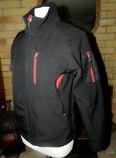 Snozu Winter Soft Shell Parka Jacket – Black w/ Red, Size Large Youth