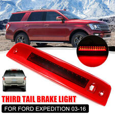 Car Third Brake Light Rear High Mount LED Red Lamp Bar For Ford Expedition 03-16