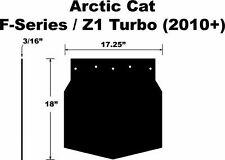 ARCTIC CAT 09-11 F-SERIES Z1 TURBO M-SERIES CROSSFIRE UNIVERSAL PDP SNOW FLAP