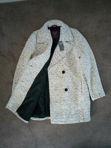 """NWT Womens Abercrombie & Fitch Wool Coat Suit Jacket Size Large Chest 38""""-39"""""""