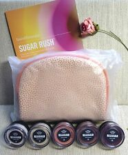 bareMinerals SUGAR RUSH 5 HYDRATING EYECOLORS + BAG! ~* READ 1ST* mfg. defect!