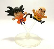 Japan Bandai Gashapon Goku Krillin Dragon Ball Z Anime Mini Action Figure Toy