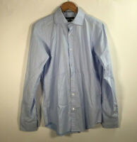 Bugatchi Shaped Fit Size Small Button Up Shirt Long Sleeve Front Button