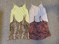 Ladies Bundle Vest Tops Size 8 New Look Topshop Boohoo Strappy Top Cami