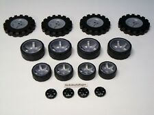 "KNEX WHEELS LOT Small Medium Large Tires 1.75, 2.5, 3.5"" Mixed Bulk Parts/Pieces"