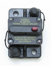 Blue Sea Systems L661-7100 50 Amp Waterproof Marine Circuit Breaker 50 Amp Boat