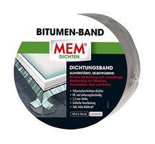 MEM Profi Bitumen Band 10 cm x 7,5 m alu