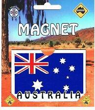 Australian Made Souvenir Roadsign Australia Flag Fridge Magnet