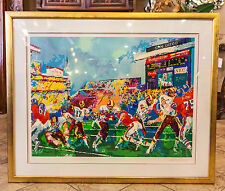"""In the Pocket"" (Redskins vs Broncos) by LeRoy Neiman Year 1988 Limited Edition"