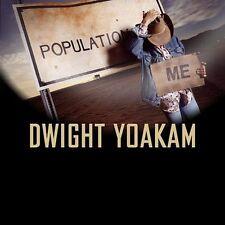 """DWIGHT YOAKAM """"Population: Me"""" CD by Dwight Yoakam (2003, Audium Entertainment)"""