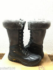 UGG ADIRONDACK II TALL BLACK GREY Boot US 7 / EU 38 / UK 5.5 - NEW