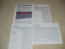 Soundcraftsmen pro Power Four Amplificador Revisión, 1987,4pg