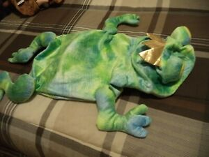 TOP PAW DOG HALLOWEEN COSTUME FROG WITH A CROWN, XL ,
