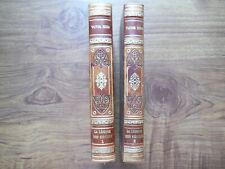 La légende des siècles - V. Hugo - Tomes 1 e 2 - Ed. Garnier Frères - Impr. 1955