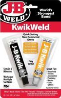 J-B Weld 8276 - KwikWeld - Quick Setting Steel Reinforced Epoxy Glue - 1st Post