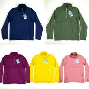 Puma Cloudspun 1/4 Zip Golf Pullover Multi-Color Womens SZ S ( 597712 )